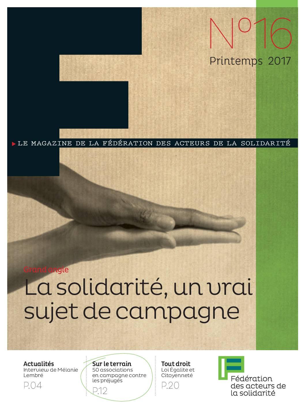 F#16 La solidarité, un vrai sujet de campagne