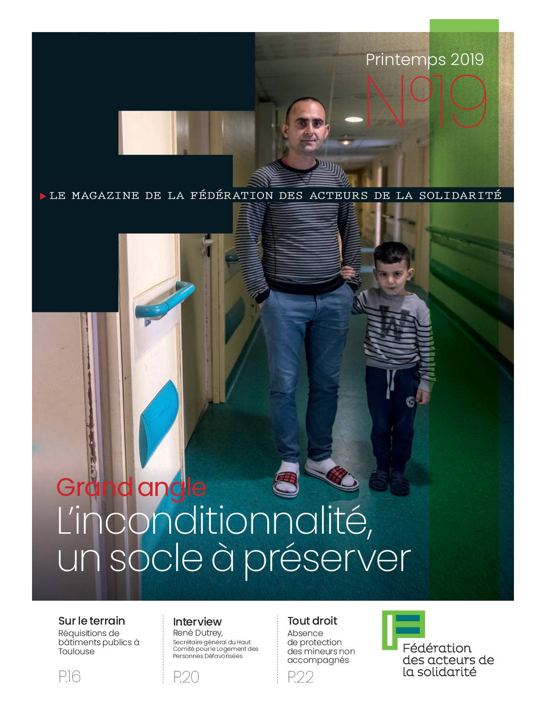 F #19 - L'inconditionnalité, un socle à préserver