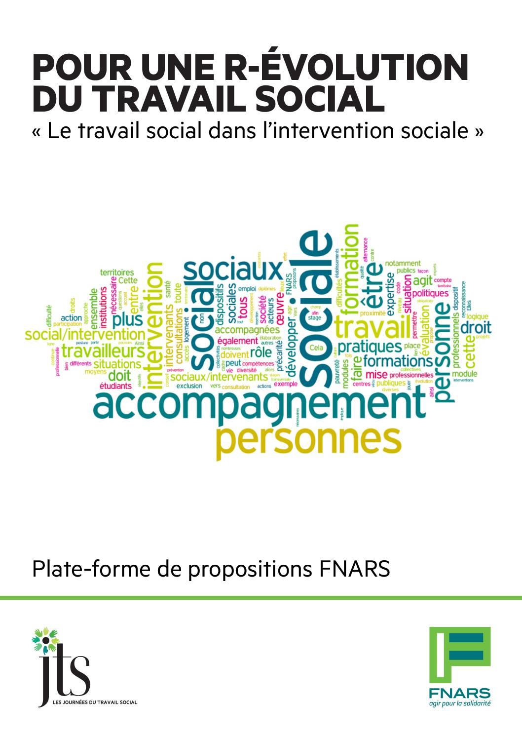 Journées du travail social, les actes et la plateforme de propositions