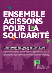 Plaquette de la Fédération des acteurs de la solidarité