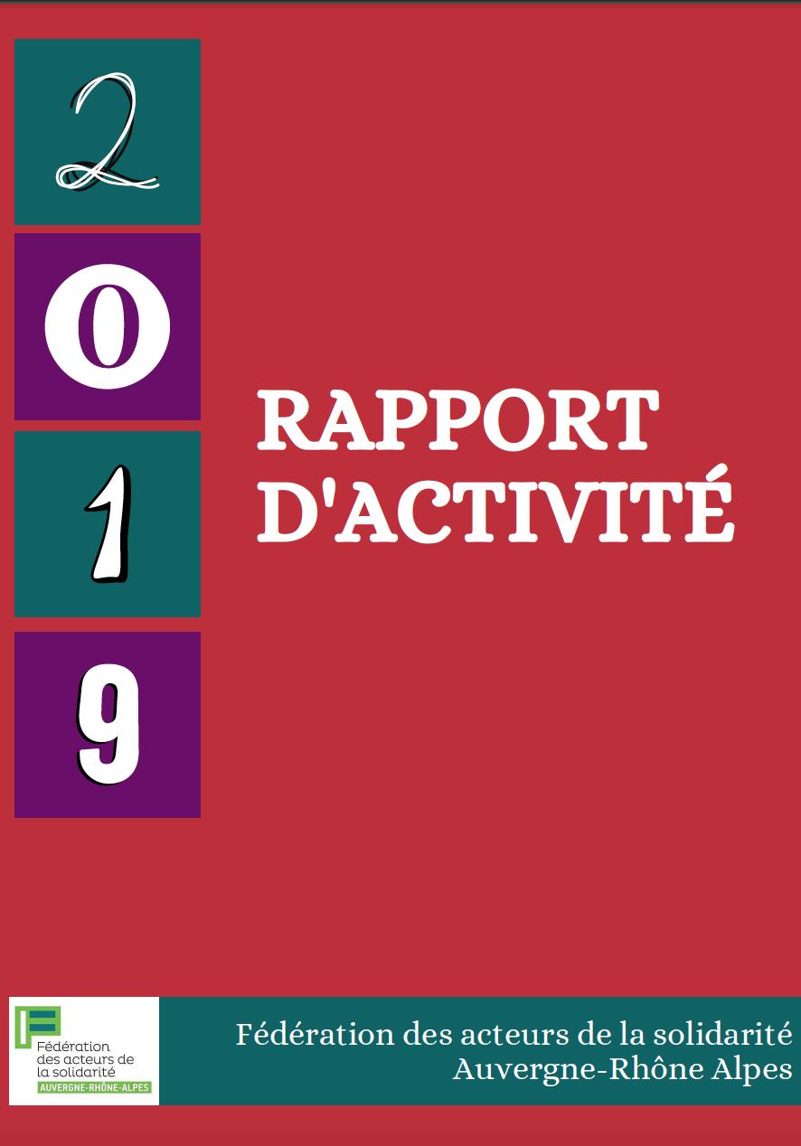 Rapport d'activité 2019 FAS AURA