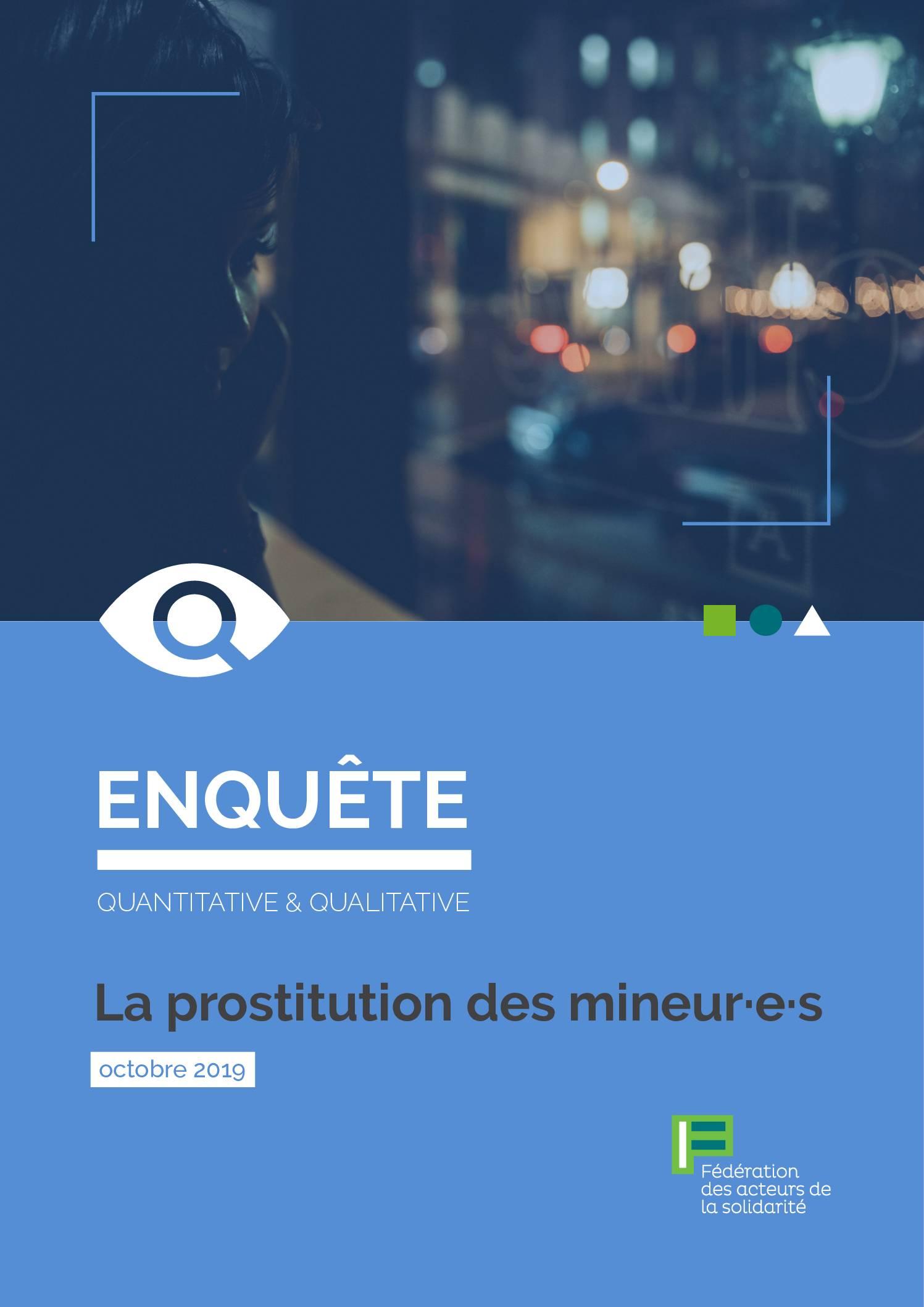 La prostitution des mineur·e·s