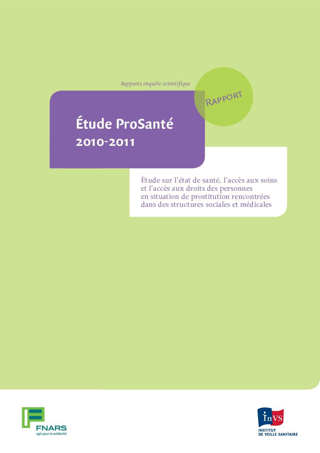 Étude ProSanté