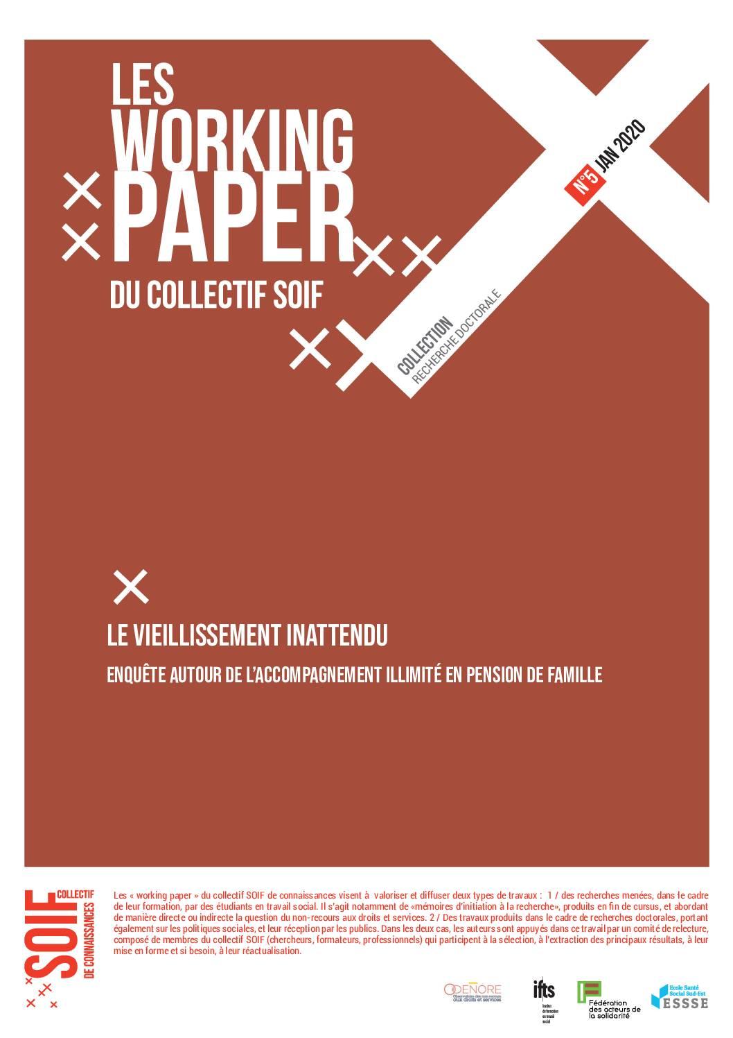 Working paper du Collectif Soif de connaissances