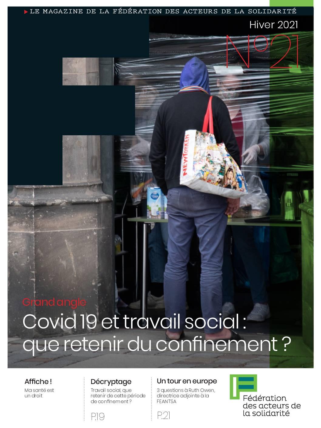 F#21 Covid 19 et travail social : que retenir du confinement ?