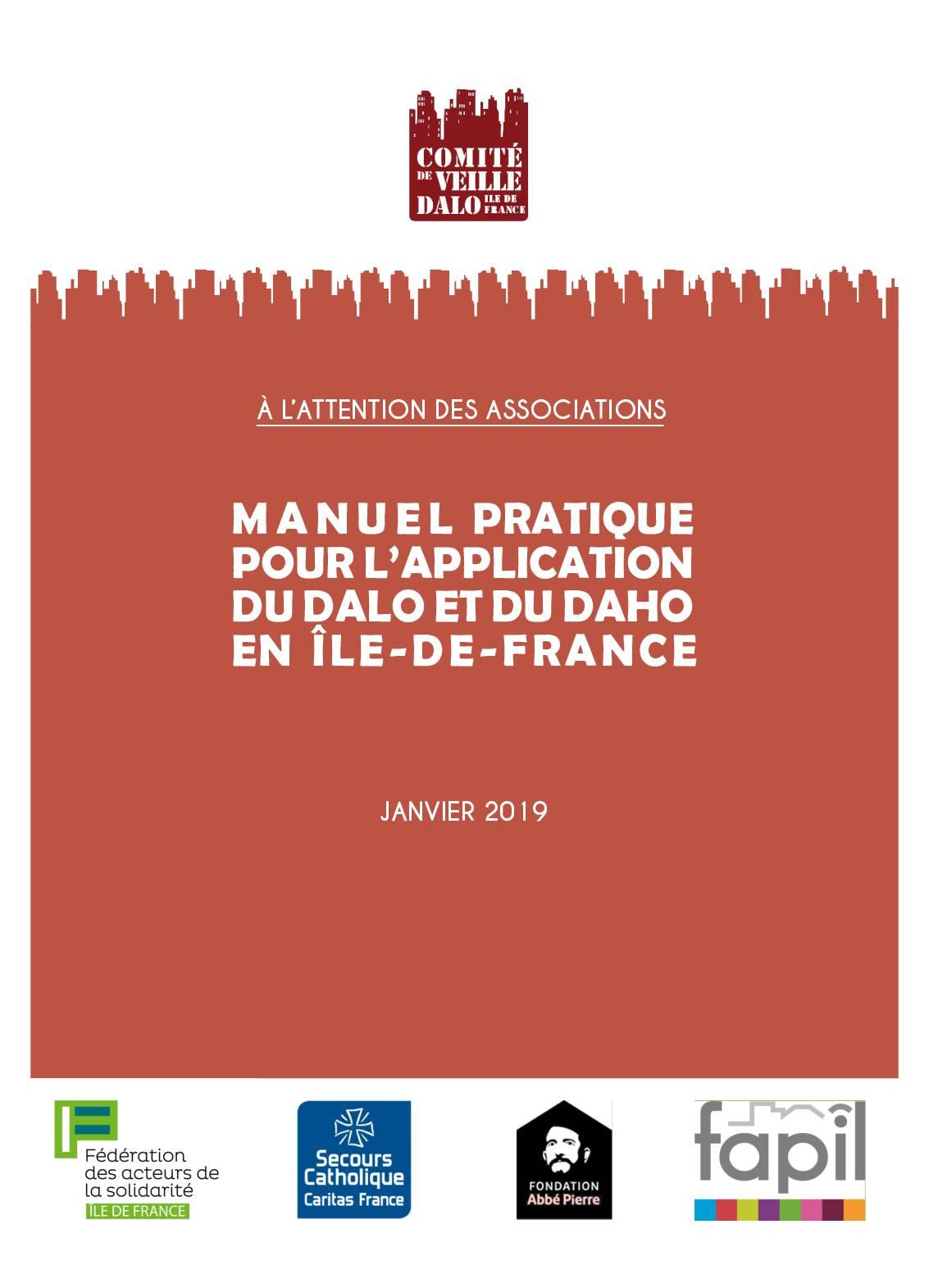 Manuel pratique pour l'application du DAHO et du DALO en Ile-de-France