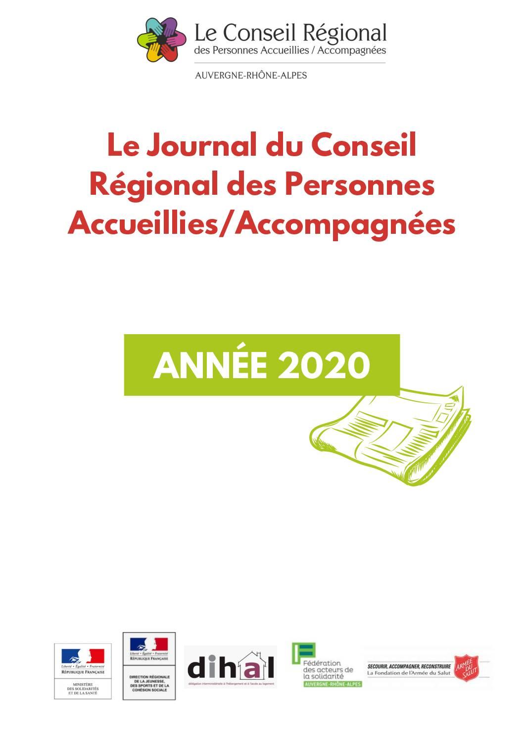 Le journal du CRPA 2020