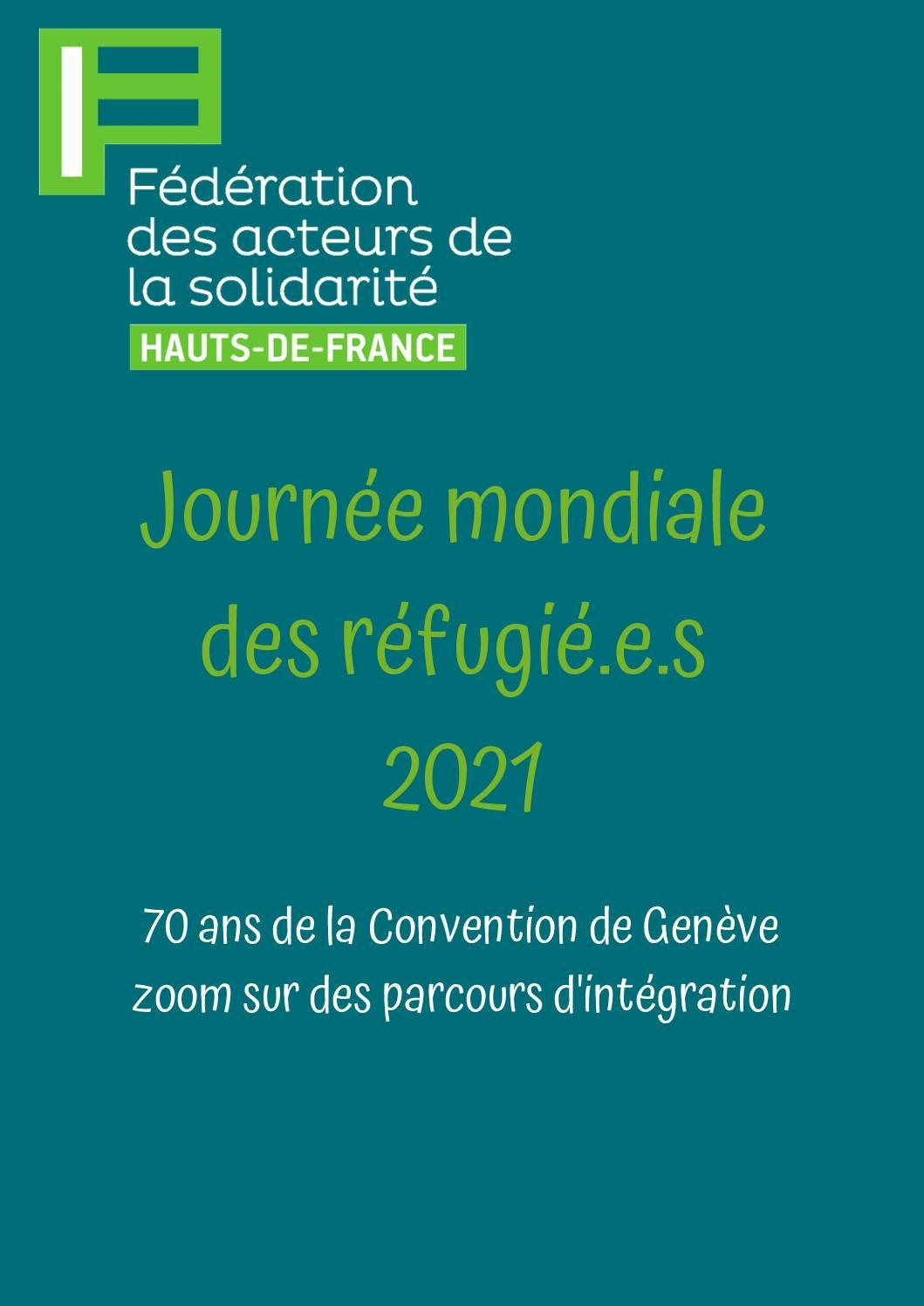 Journée mondiale des réfugié.e.s 2021