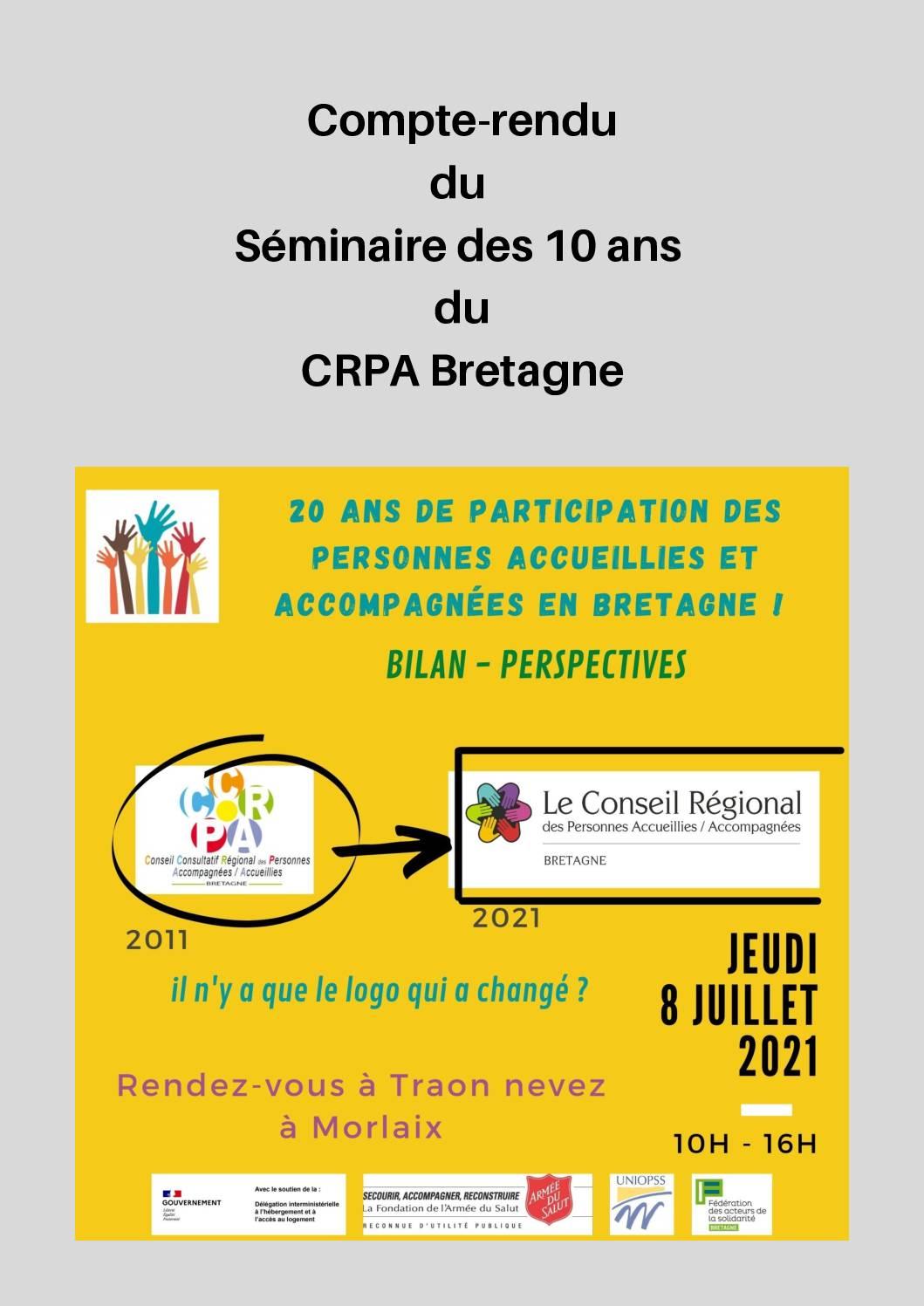 10 ans de CRPA en Bretagne