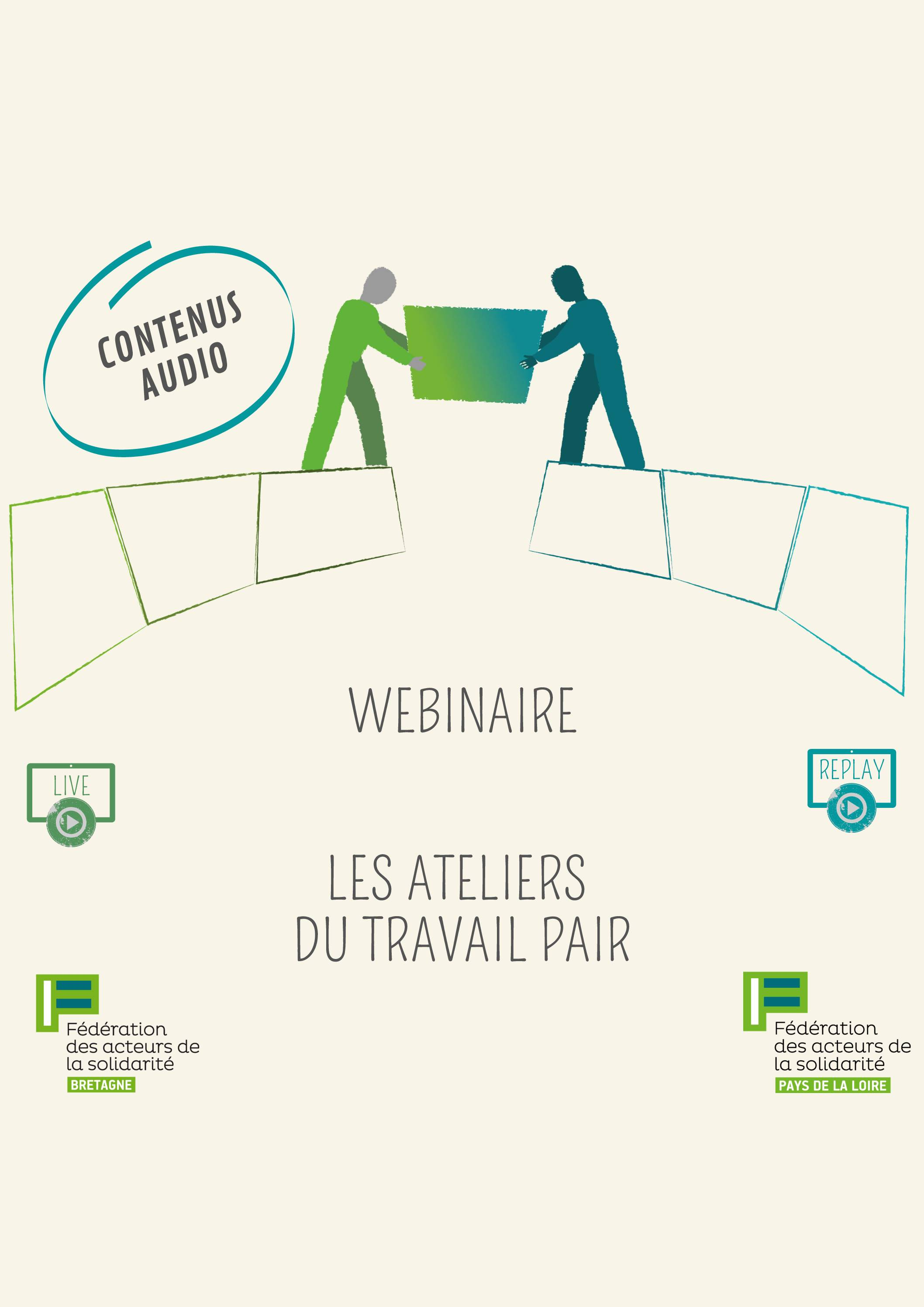 TRAVAIL PAIR - Les contenus audios de la FAS Bretagne